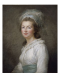 Elisabeth Philippine Marie H&#233;l&#232;ne de France, &quot;Madame Elisabeth&quot;, soeur de Louis XVI (1764-1794) Reproduction proc&#233;d&#233; gicl&#233;e