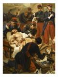 Episode de la bataille d'Inkermann pendant la guerre de Crimée en 1854 Giclee Print by Jules Alfred Vincent Rigo