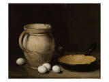 Die Eier Giclée-Druck von Antoine Vollon