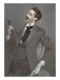Le comte Robert de Montesquiou (1855-1921), écrivain Gicléedruk van Giovanni Boldini
