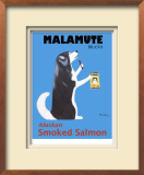 Malamute Smoked Salmon Limited Edition Framed Print by Ken Bailey