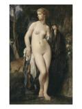 Diane Lámina giclée por Jules Elie Delaunay