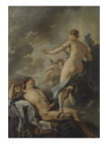 Diane et Endymion Gicl&#233;e-Druck von Jean Baptiste Van Loo