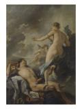 Diane et Endymion Giclée-Druck von Jean Baptiste Van Loo