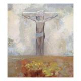 Christ en croix Giclee Print by Odilon Redon