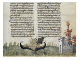 Divine Comédie de Dante. L'Enfer avec un commentaire de Fra Guido de Pise Giclee Print