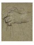 Convulsionnaires et miraculés de Saint-Médard : étude pour maladie de Ph. S Giclee Print by Jean Restout