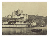 Constantinople, maisons sur le Bosphore Giclee Print by Felice Beato