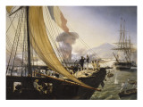 Episode de l'expédition du Mexique en 1838, Giclee Print by Horace Vernet