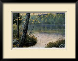 Golden Pond Limited Edition Framed Print by J. Vanderbrink