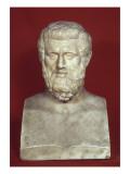 Double buste : Aristophane (vers 450-386) et Sophocle (vers 496-406) Lámina giclée
