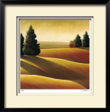 Golden Fields I Limited Edition Framed Print by Deac Mong