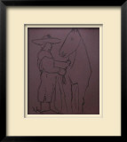 LC - Picador et cheval Limited Edition Framed Print by Pablo Picasso