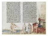 Divine Comédie de Dante. L'Enfer avec un commentaire de Fra Guido de Pise Gicleetryck