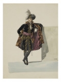 Costume Attorney General of the Imperial High Court Giclee Print by Jean Baptiste Isabey