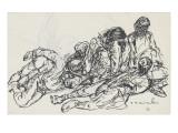 Soldats morts entassés les uns sur les autres Giclee Print by Théophile Alexandre Steinlen