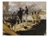 Episode de l'expédition du Mexique en 1838, Giclée-Druck von Horace Vernet