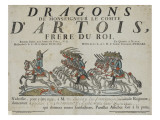 Dragons of Monseigneur the Count D'Artois, Brother Of Giclee Print