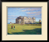 St. Andrews 18th - Tom Morris Limited Edition Framed Print by Peter Munro