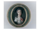 Elisabeth Vigée-Le Brun (1755-1842), peintre Giclée-Druck von Elisabeth Louise Vigée-LeBrun