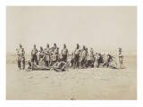 Crimean War Camp Life of Incident: Hunters of Africa Giclee Print by Roger Fenton