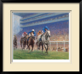Diamond Stakes Ascot, 1999 Limited Edition Framed Print by Graham Isom