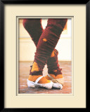 Leg Warmers Limited Edition Framed Print by Harvey Edwards