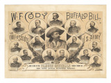 Displays Compartment A. Hoen : Wfcody, Buffalo Bill Giclee Print