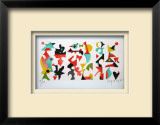 Composition abstraite Limited Edition Framed Print by Jacques Lagrange