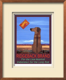 Ridgeback Brand Limited Edition Framed Print by Ken Bailey
