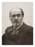 Emile Zola en 1902 Giclée-tryk af Emile Zola - emile-zola-emile-zola-en-1902