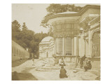 Constantinople, rue des fontaines  et des tombeaux  de la Mosquée d'Eyoub Giclee Print by James Robertson