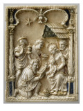 Diptych: the Nativity and the Adoration of the Magi Giclee Print
