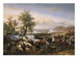 Episode de la conquête de l'Algérie en 1835 Giclée-Druck von Horace Vernet