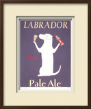 Labrador Ale Limited Edition Framed Print by Ken Bailey