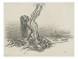 La famine Giclee Print by Théophile Alexandre Steinlen