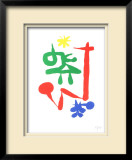 Parler Seul, 1947 Limited Edition Framed Print by Joan Miró