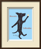 Biscuits Labrador Limited Edition Framed Print by Ken Bailey