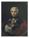 Farinelli (Carlo Broschi, 1705-1782, dit), sopraniste Giclée-tryk af Jacopo Amigoni