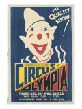 Affiche Bertram W.Mill's circus at Olympia Reproduction procédé giclée