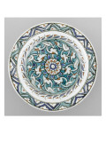 Dish with Rosette Foliage and Finished with Finials Giclee Print