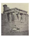 Erechthéion, les caryatides Giclee Print by James Robertson