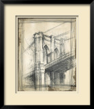 Brooklyn Bridge Limited Edition Framed Print by Ethan Harper