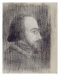 Erik Satie (1866-1925), compositeur Giclee Print by Paul Signac