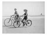 Radfahren Giclée-Druck