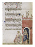 Divine Comédie de Dante . L'Enfer avec un commentaire de Fra Guido de Pise Giclee Print