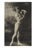 Cute Kremska. an Elegant Acrobat…. (8 November 1912) Giclee Print