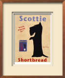 Scottie Shortbread Limited Edition Framed Print by Ken Bailey