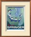 Source Springer Limited Edition Framed Print by Ken Bailey