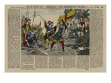 Discovery of America by Christopher Columbus (Title) Giclee Print
